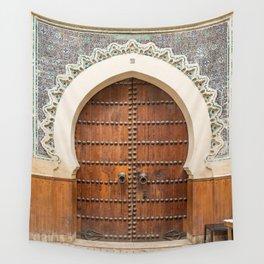 Doorways - Fes, Morocco Wall Tapestry