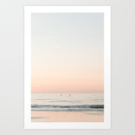 Beach Sunset Art Print