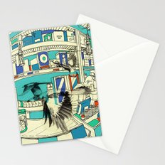 Coffee Bird Stationery Cards