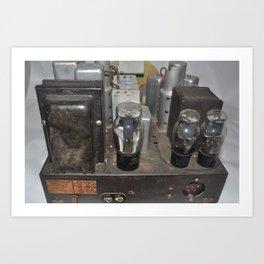 c1940's Stromberg Carson Tube Radio Chassis Art Print