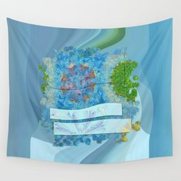 Paradoxism Being Flowers  ID:16165-073708-09691 Wall Tapestry
