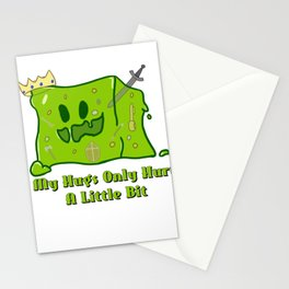 Cute King Slime Stationery Cards