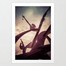 To Dance Art Print