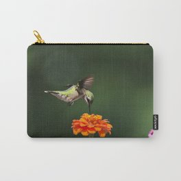 Ruby Throated Hummingbird IV Carry-All Pouch