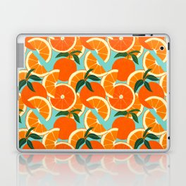 Orange Harvest - Blue Laptop & iPad Skin