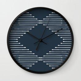 Geo (Annapolis Blue) Wall Clock