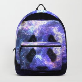 Galaxy Panda Space Colorful Backpack