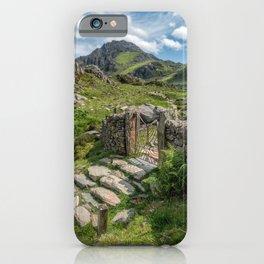 Decorative Iron Gate iPhone Case