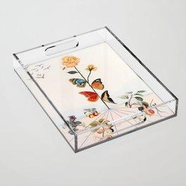 Salvador Dali Acrylic Tray