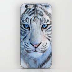 White Tiger Cub 852 iPhone & iPod Skin