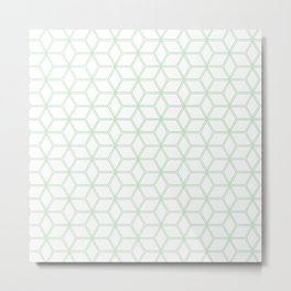 Hive Mind Mint Green #216 Metal Print