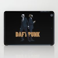 daft punk iPad Cases featuring Daft Punk by joshuahillustration