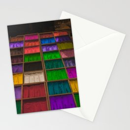 The Colors of Kathmandu City 01 Stationery Cards