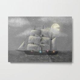 Ghost Ship  Metal Print
