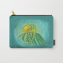 Colorful Chameleon! Carry-All Pouch