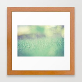 he lays me down Framed Art Print