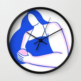 Rounded Wall Clock