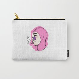 pink guy smoking Carry-All Pouch