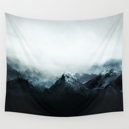 Mountain Peaks Wall Tapestry