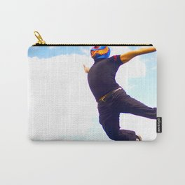 Flying Luchador Carry-All Pouch