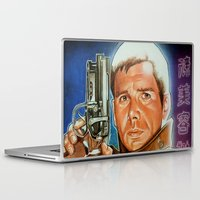 runner Laptop & iPad Skins featuring Blade runner by calibos