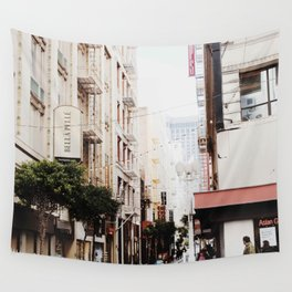 SF Side Streets Wall Tapestry