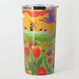 Flowers field Travel Mug