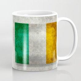 Flag of the Republic of Ireland, Vintage style Coffee Mug