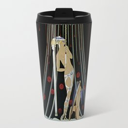 "Art Deco Design ""Helen of Troy"" by Erté Travel Mug"