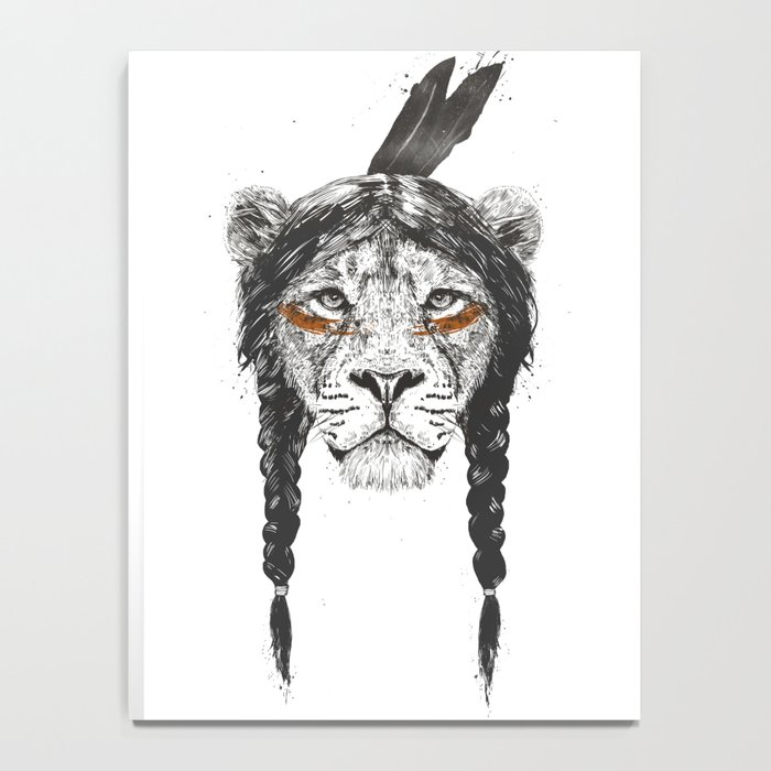 Warrior lion Notebook
