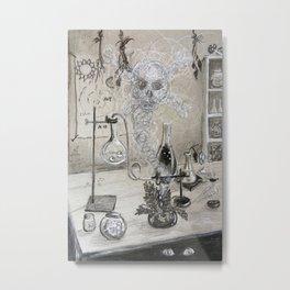 Laboratory Metal Print