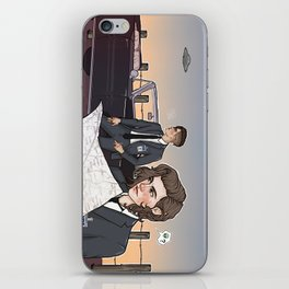 agents styles and malik iPhone Skin