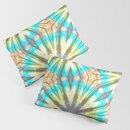 Twelve-Pointed Diagonal Stars Pillow Sham