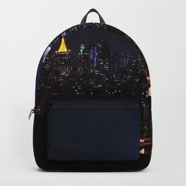 Lights of New York City (Color) Backpack