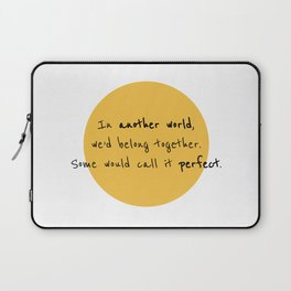 A Toast to Us Laptop Sleeve
