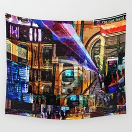 The A Train Wall Tapestry