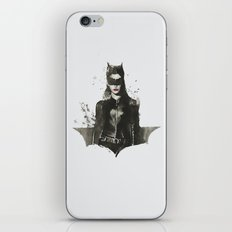 TDKR-catwoman II iPhone & iPod Skin