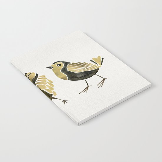 24-Karat Goldfinches Notebook