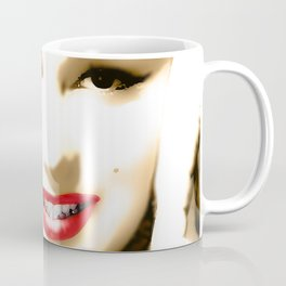Portrait of  Marilyn Monroe Coffee Mug
