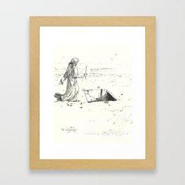 short step Framed Art Print