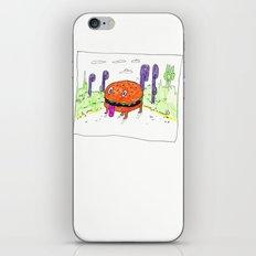 burger dog iPhone & iPod Skin