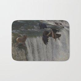 The Gathering Place - Wildlife Scene Bath Mat