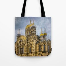 Church of the Assumption of the Blessed Virgin Mary - St. Petersburg Tote Bag
