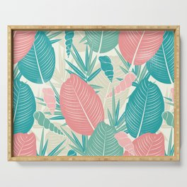 Palm Leaves Serving Tray