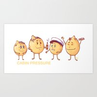 cabin pressure Art Prints featuring Cabin Pressure - Lemons by MaliceZ