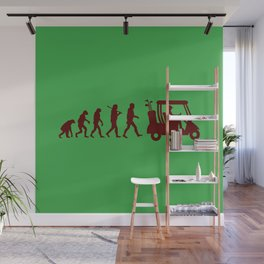 Evolution - golf Wall Mural
