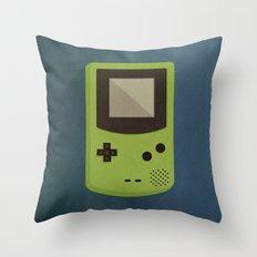 GameBoy Throw Pillow