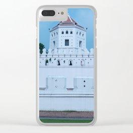 Phra Sumen Fort, Bangkok, Thailand Clear iPhone Case