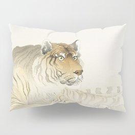 Tiger (1900 - 1930) by Ohara Koson (1877-1945) Pillow Sham