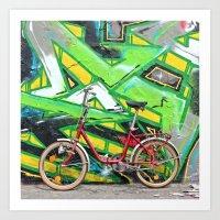 Berliner Mauer Art Print